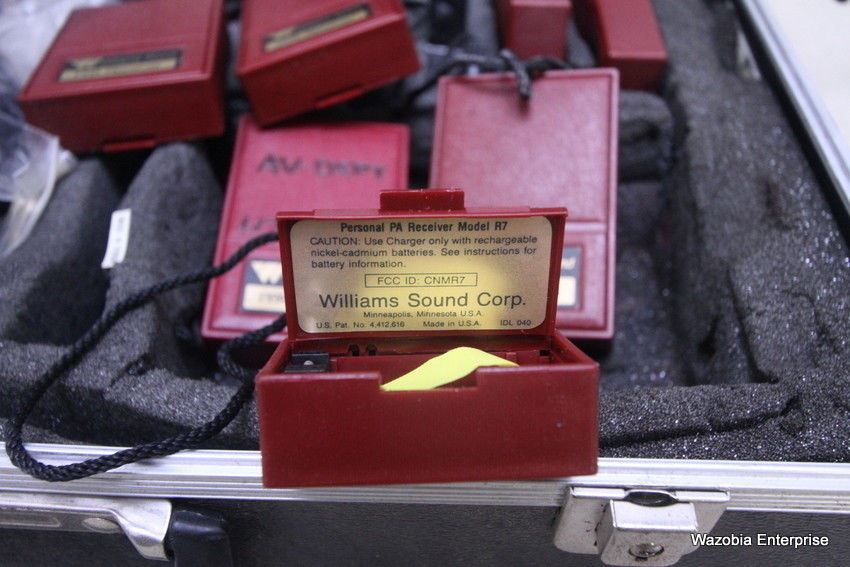 WILLIAMS SOUND PPA PERSONAL PA FIELD RECEIVER