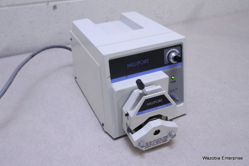 MILLIPORE PERISTALTIC PUMP MODEL XX8200115 WITH  XX80EL005 HEAD