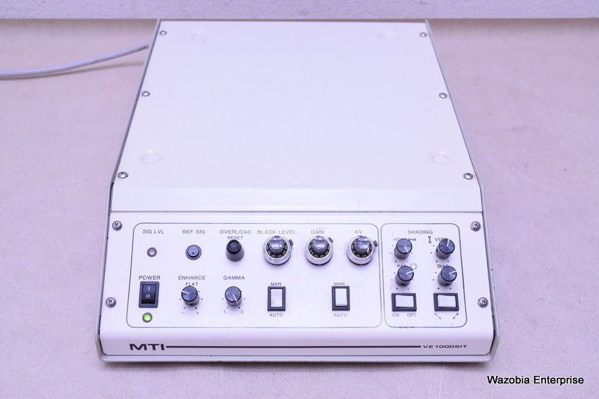 DAGE MTI VE 1000SIT MICROSCOPE VIDEO CAMERA CONTROLLER