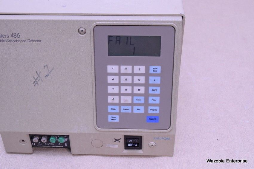 WATERS 486 TUNABLE ABSORBANCE DETECTOR M486
