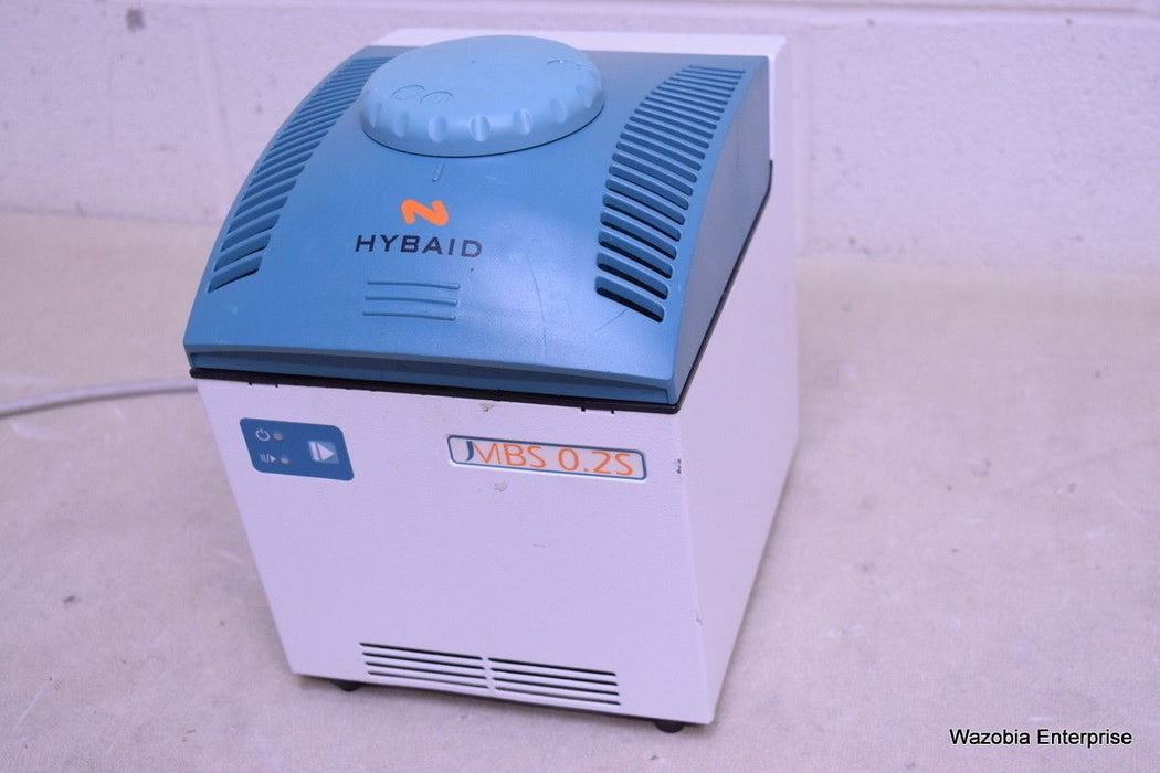 THERMO HYBAID MBS 0.2S THERMAL CYCLER MBLK001 ISSUE 2 HBMBS02 110