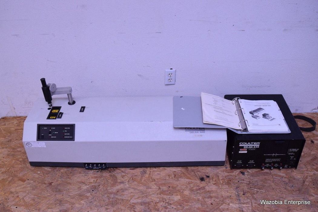 BECKMAN COULTER DELSA 440  ELECTROPHORETIC LIGHT SCATTERING ANALYZER