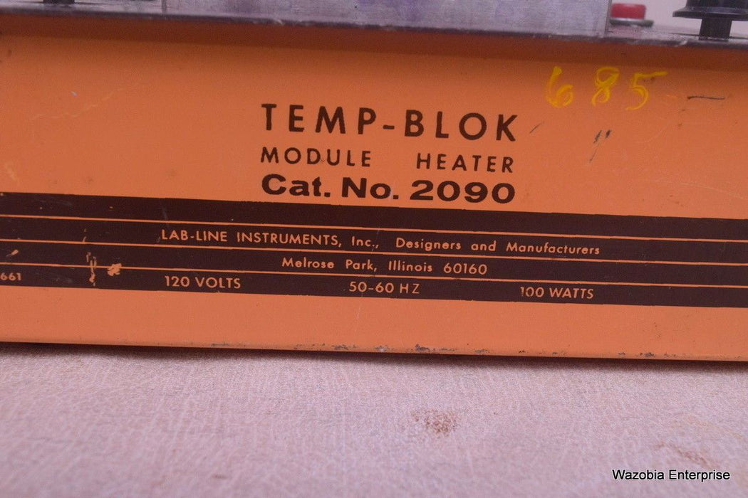 TEMP-BLOK MODULE HEATER DRY BATH INCUBATOR CAT. 2090