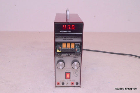 HOEFER SCIENTIFIC DC POWER SUPPLY MODEL PS 500X