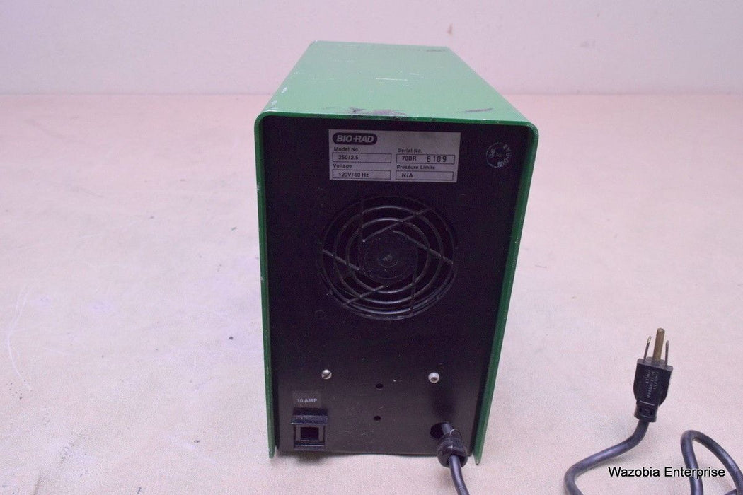 BIO - RAD POWER SUPPLY MODEL 250/2.5