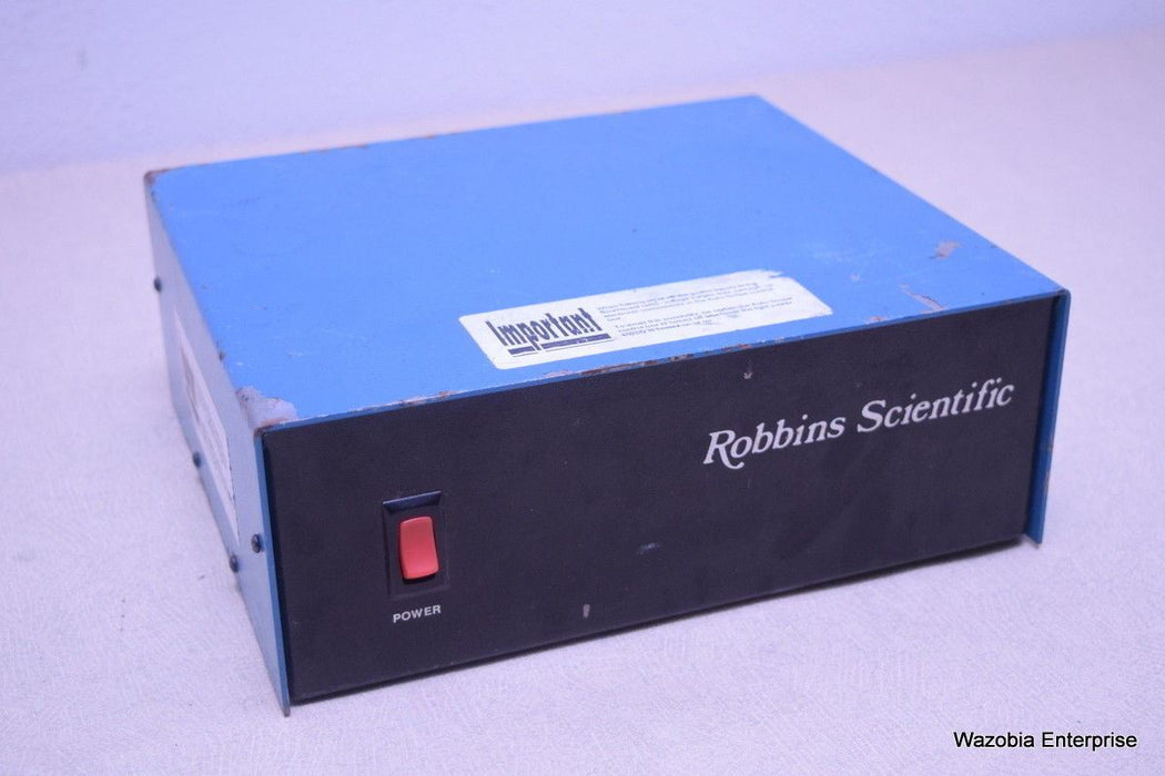 ROBBINS SCIENTIFIC AUTOSCOPE STAGE MICROSCOPE POWER SUPPLY