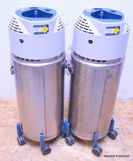 2 AIR LIQUEFACTION COMPANION OXYGEN REFRIGERATED LIQUID USP UN1073 PURITAN TANK