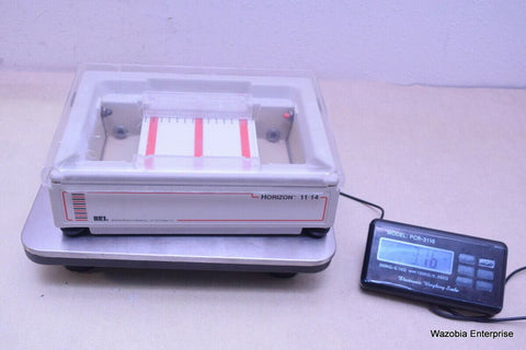 BRL  HORIZON 11 14 HORIZONTAL GEL ELECTROPHORESIS SYSTEM CAT. NO: 1068BD