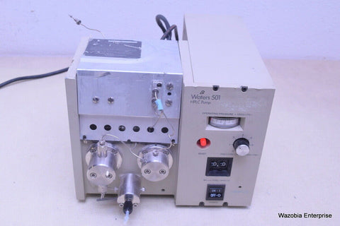 WATERS 501 HPLC PUMP SOLVENT DELIVERY MODULE