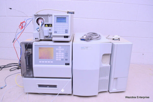 WATERS HPLC SYSTEM 1525 BINARY PUMP 2487 UV VIS DETECTOR 717 PLUS AUTOSAMPLER