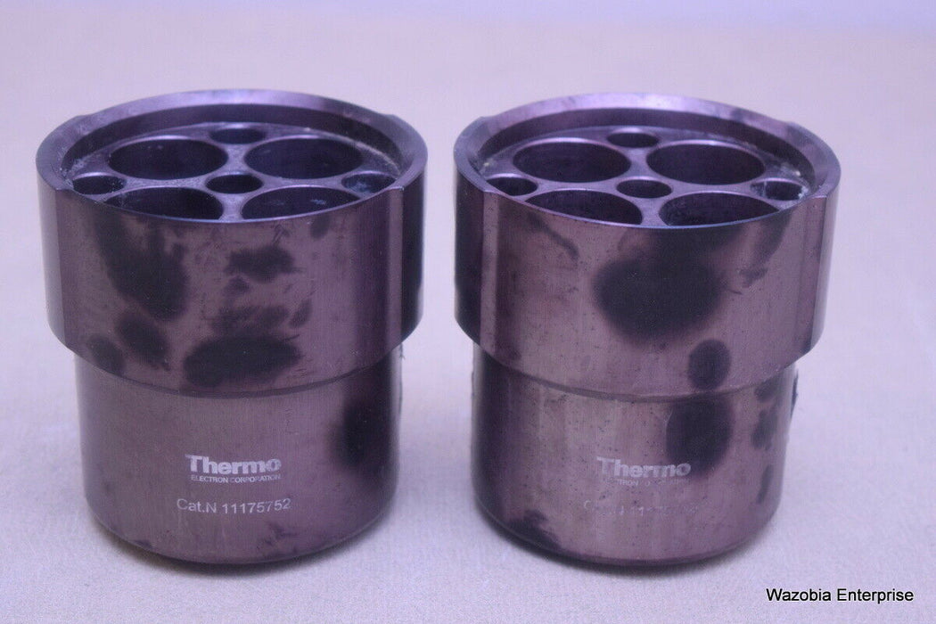 LOT OF 2 THERMO SCIENTIFIC CENTRIFUGE SWING ROTOR BUCKETS