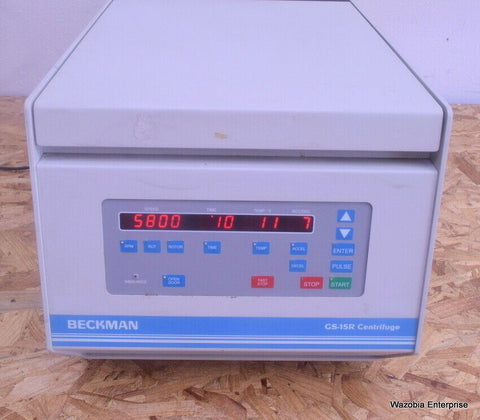 BECKMAN GS-15 R CENTRIFUGE WITH CONICAL C0650 ROTOR