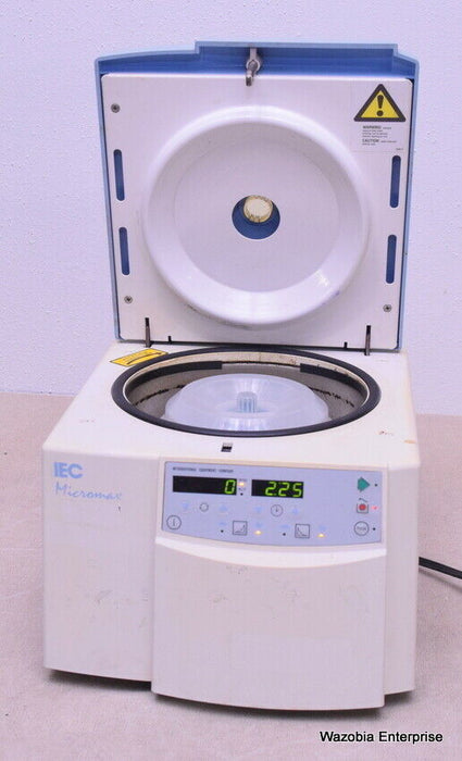 IEC MICROMAX CENTRIFUGE WITH ROTOR IEC 851