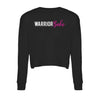 WARRIORBABE CROP SWEATSHIRT