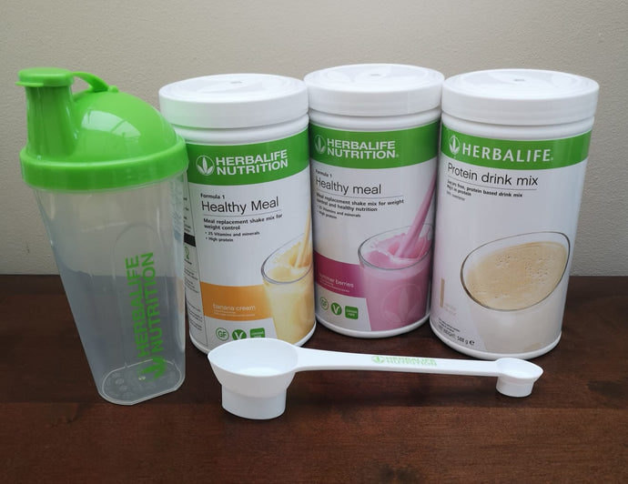 Body Fat Loss - Basic Programme Herbalife - free delivery - includes spoon and shaker