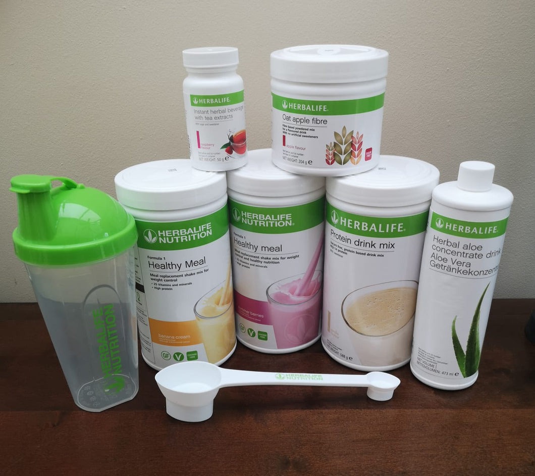 Herbalife Body Fat Loss - Advanced Programme with spoon plus shaker