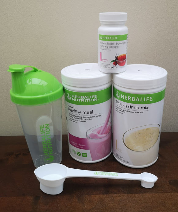 Herbalife Ideal Breakfast Starter Programme with Measuring spoon and shaker