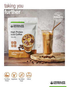 High Protein Iced Coffee Latte Macchiato 308 g
