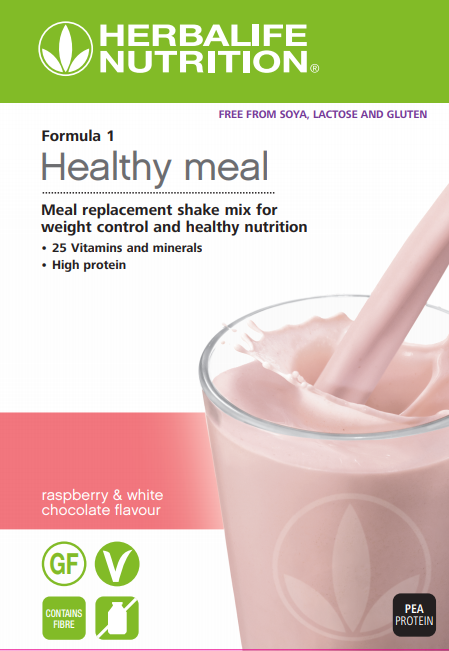 Formula 1 Nutritional Shake Mix Free from raspberry & white chocolate flavour