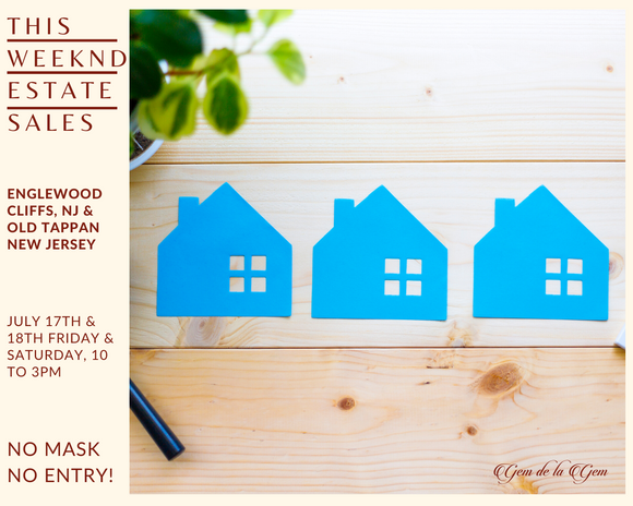 ESTATE SALES IN ENGLEWOOD CLIFFS & OLD TAPPAN, NJ | 7/17 - 7/18, 10AM-3PM