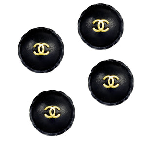 Amazing Chanel Leather Buttons - Gem de la Gem