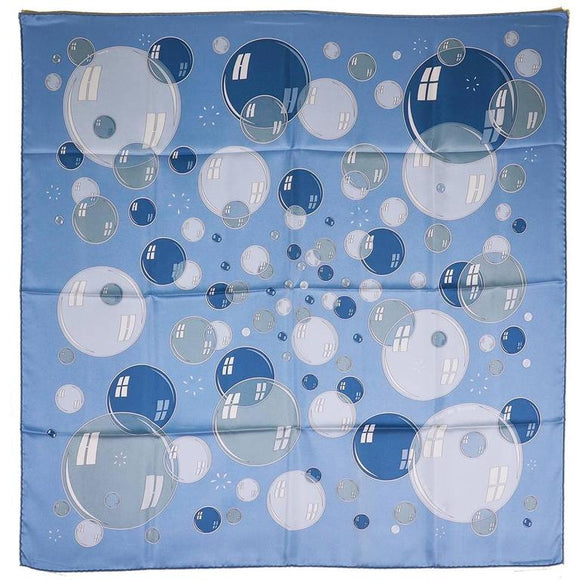 Beautiful Hermes Bubbles Silk Scarf - Gem de la Gem