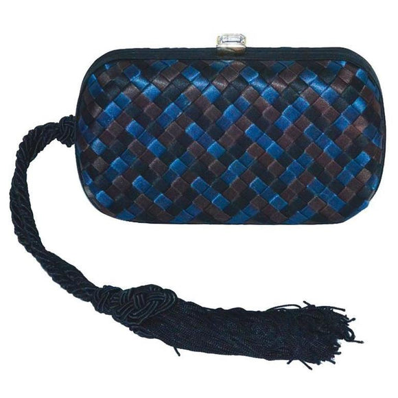 Bottega Veneta Tri-Color Silk Knot Bag - Gem de la Gem