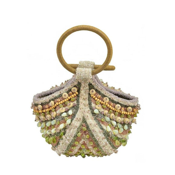 Great Bea Valdes Handmade Beaded Bag - Gem de la Gem