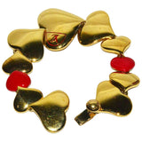 """LOVE"" Vuitton Heart Bracelet - Gem de la Gem"