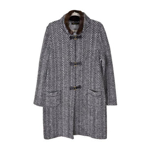 Luxurious Lora Piana Cashmere Duffle Coat with Sable Collar - Gem de la Gem