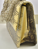 Rare Darby Scott Lizard and Smokey Topaz Handbag - Gem de la Gem