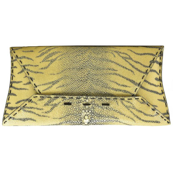 Fabulous VBH Tiger Stingray Clutch - Gem de la Gem