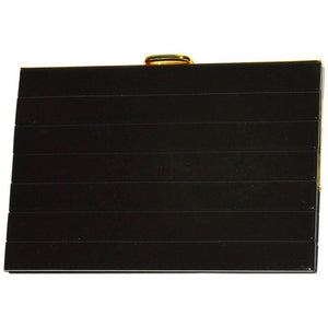 Roger Vivier Black Resin Clutch - Gem de la Gem