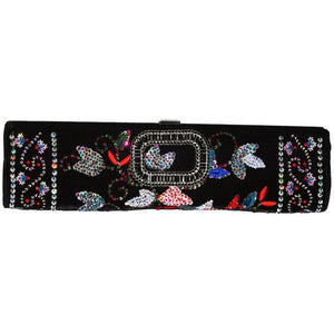 Roger Vivier Embellished Long Clutch Bag - Gem de la Gem