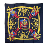 "Hermes ""Grand Uniforme"" Silk Scarf - Gem de la Gem"