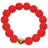Enormous Valentin Magro Woven Coral Gold Bead Necklace - Gem de la Gem