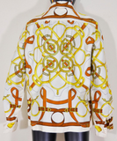 Fabulous Vintage Hermes Sweater Blouse Ensemble - Gem de la Gem
