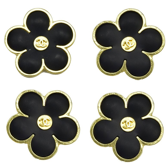 Gorgeous Rare Chanel Flower Buttons - Gem de la Gem