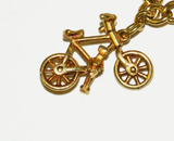 Fabulous Yellow Gold Moveable Charm Bracelet - Gem de la Gem