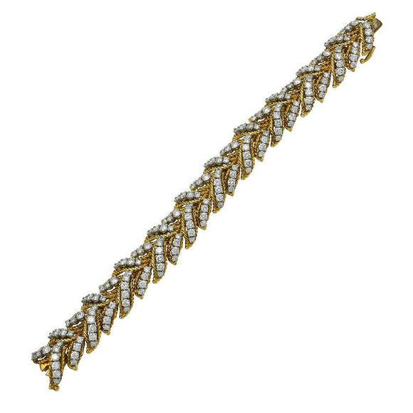 Amazing Hammerman Bros. Diamond and Gold Classic Bracelet - Gem de la Gem