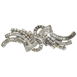 Important Harry Winston Diamond Duette Brooch - Gem de la Gem