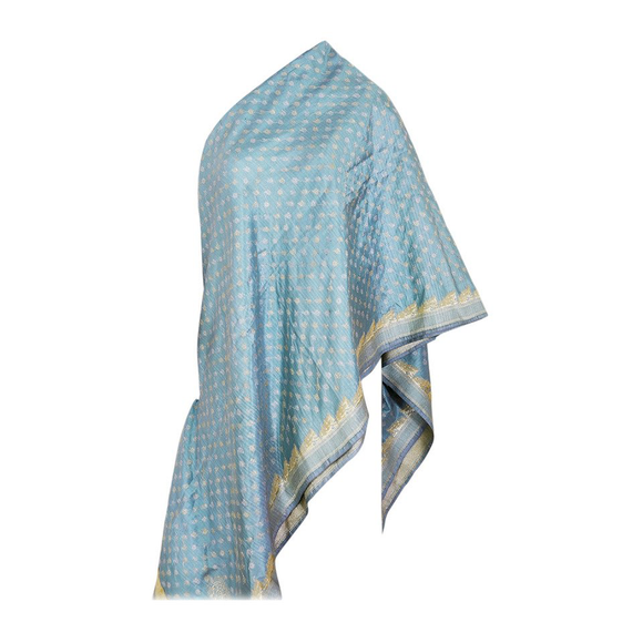 Amazing Virginia Witbeck Silk Shawl Wrap - Gem de la Gem