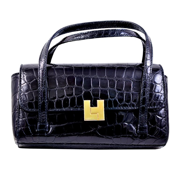 Lovely Lambertson Truex Crocodile Evening Bag - Gem de la Gem