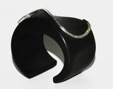 Wow! Kara Ross Ebony Diamond Cuff - Gem de la Gem