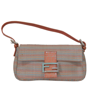 Beautiful Fendi Woven Leather Baguette Bag - Gem de la Gem
