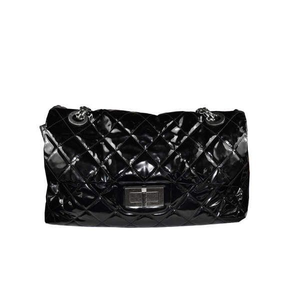 Oversized Chanel Patent Bag - Gem de la Gem