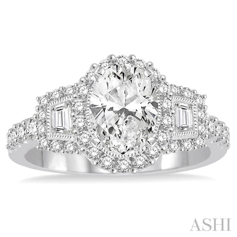 2.00 Carat Three Stone Engagement Ring
