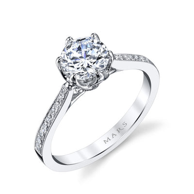 Round Diamond Engagement Ring 1.00ctw
