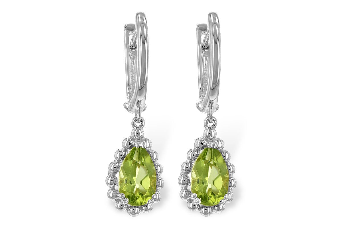 14K Peridot Earrings Allison Kaufman