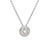 Jorge Revilla Sterling Silver & 18k Diamond Necklace
